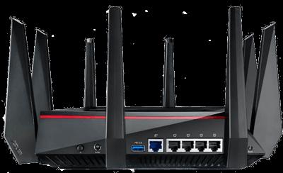 Настройка роутеров Asus на дому сетей wifi